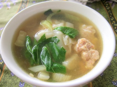Shrimp Pork Soup